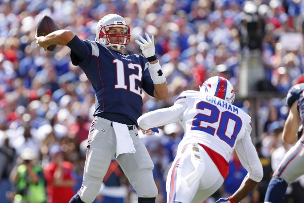 Protecting Tom Brady will be a key to New England's success. (Photo By: Kevin Hoffman-USA TODAY Sports)