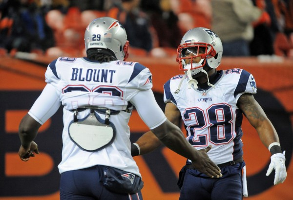 The Patriots open as big home favorites this weekend. (Photo By: Keith Nordstrom)