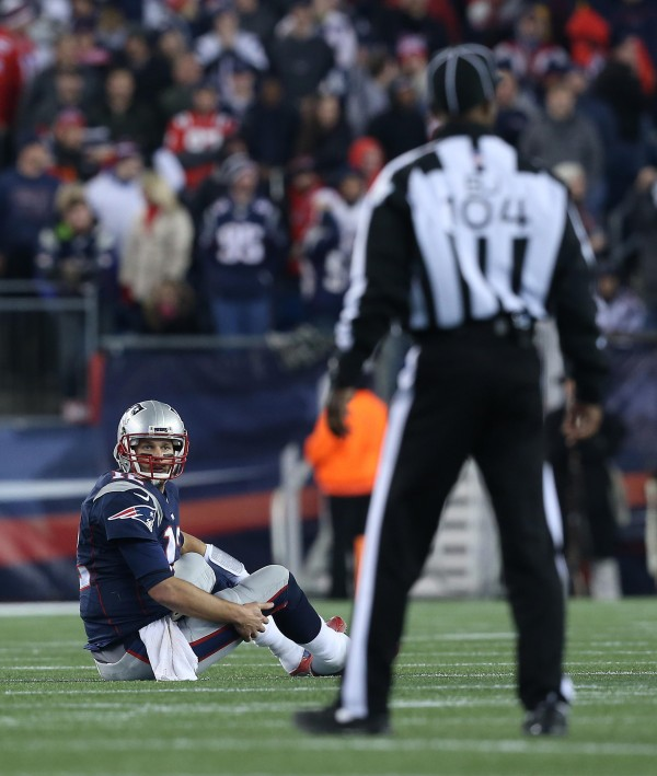 Tom Brady and the Patriots remain a top five team in the NFL despite all the injuries. (Photo By: David Silverman)