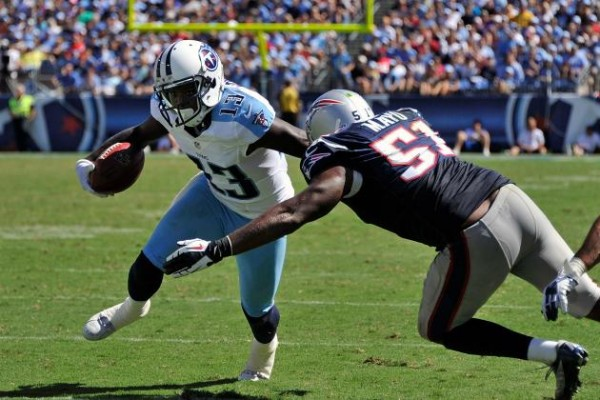 Titans and Patriots have some big names on Friday Injury Report (Photo By: Frederick Breedon/Getty Images)