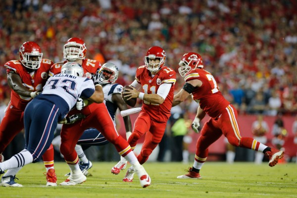 The Chiefs and Patriots set to play Saturday. (Photo From Odyssey.com)