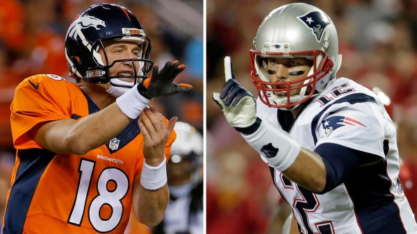 Want to see Peyton Manning Vs Tom Brady? Well read below to find how you could win a chance to catch the game! (Photo From Forbes.com)