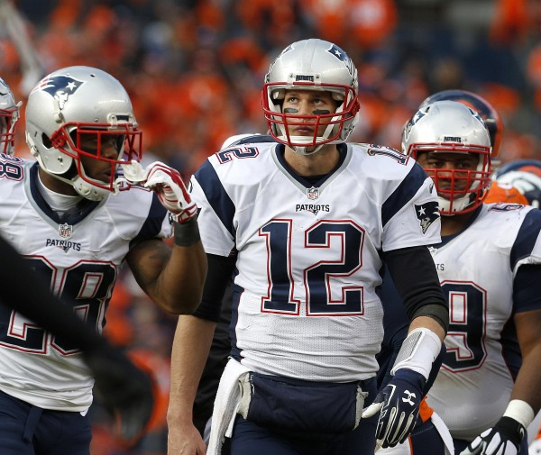 Patriots go down in the AFC Title Game but not without a fight.  (Photo By: AP Photo/Joe Mahoney)