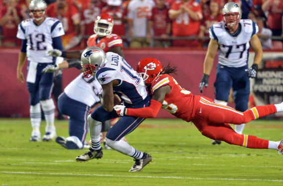 How will the offense fair against the Chiefs defense? We will see. (Photo By: Denny Medley – USA Today Sports Images)