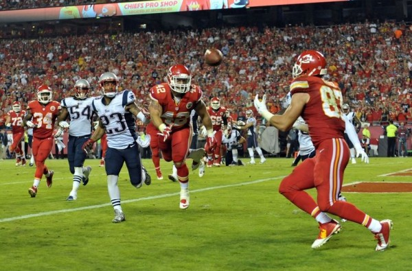Shutting down TE Travis Kelce will be the  main goal on defense. (Photo By: Denny Medley-USA TODAY Sports)