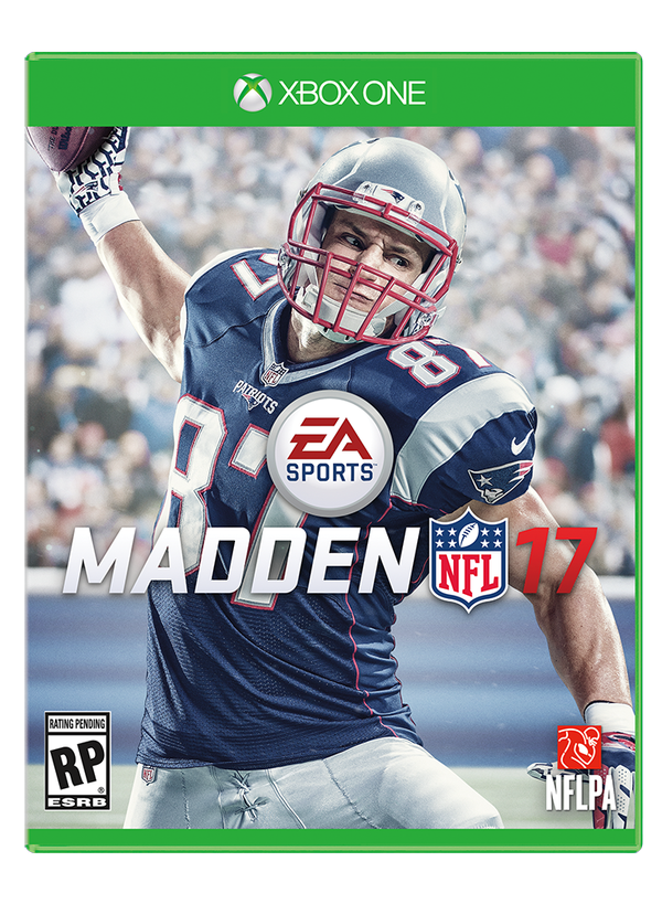 Gronk the new Madden Cover Boy! (Photo From Sports Center)
