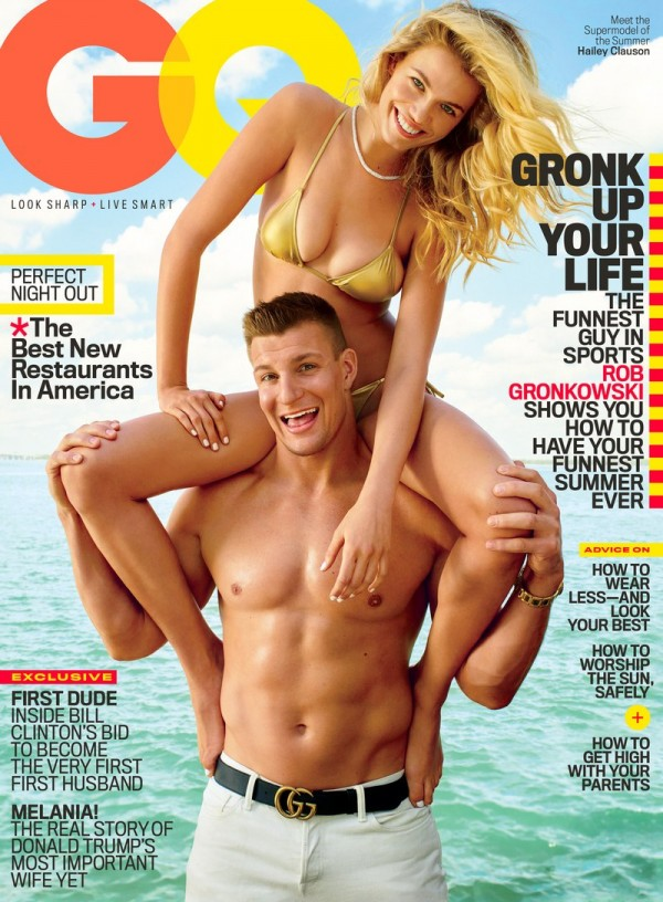 Gronk will be the June cover boy for GQ! (Photo From GQ.com)