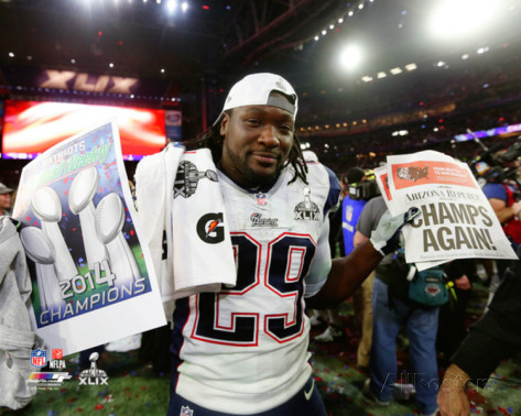 Blount is looking to recovery from a 2015 hip injury. (Photo from Allposter.com)