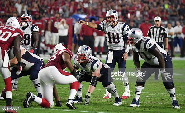 Jimmy Garoppolo, Stephen Gostkowski lead the Patriots to a win. (Photo Credit: Ethan Miller/ Getty Images)