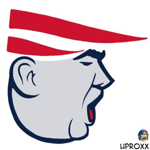 What if the Patriots Logo Was Made in the Likeness of President ...